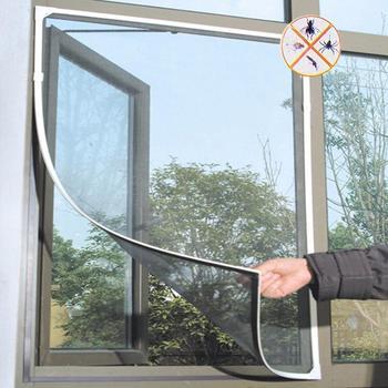 2020 Hot sprzedaży kryty moskitiery moskitiery moskitiery moskitiery netto zasłony drzwi i okna kuchenne moskitiery tanie i dobre opinie Jednodrzwiowe Uniwersalny Moskitiera Czworoboczny Domu Camping Podróży Dorosłych Owadobójczy traktowane Składane 100 nylon