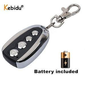 Image 2 - Kebidu Wireless 433Mhz Remote Control Cloning Gate for Garage Door Copy 433.92Mhz Remote Control Portable Duplicator