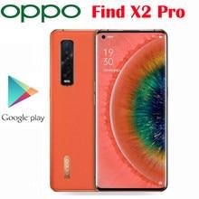 Original oficial oppo encontrar x2 pro 5g smartphone 6.7 polegada snapdragon 865 12gb 256gb câmera traseira 48mp + 48mp 13mp 4260mah nfc