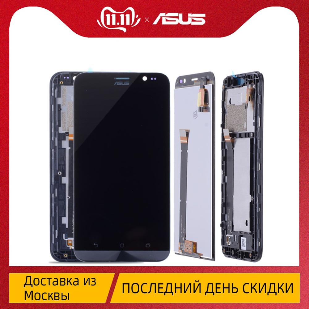Original <font><b>Display</b></font> For ASUS Zenfone Go <font><b>ZB551KL</b></font> <font><b>Display</b></font> Touch Screen Assembly with Frame For ASUS <font><b>ZB551KL</b></font> LCD Adr On Go TV X013D image