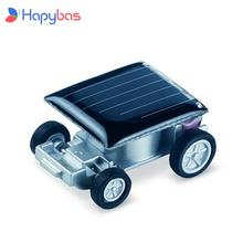 Funny smallest design solar energy car mini toy car intelligent car  Solar Power Mini Toyr  Educational Gadget Children Gift
