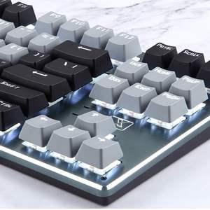Image 5 - RF912D 87 Tasten Tastatur Backlit bluetooth Drahtlose Verdrahtete Wiederaufladbare Gaming Tastatur Ergonomische Für PC Laptop Tablet