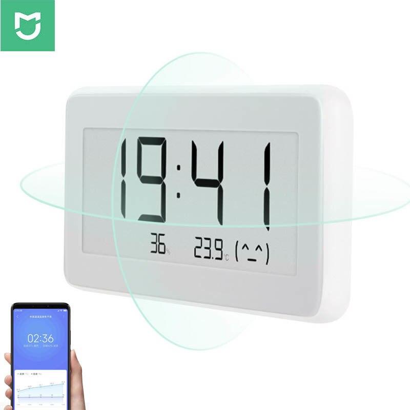 2019Xiaomi Mijia Bluetooth Temperature Humidity Sensor Xiomi Mi APP E-link LCD Screen Digital Thermometer Moisture Smart Linkage