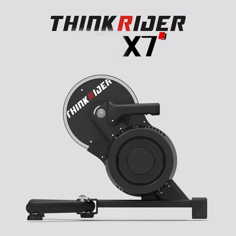 Thinkrider X7 3 スマート自転車トレーナースタンド屋内 mtb ロードバイク carbaon  繊維フレーム内蔵電源メーターバイクトレーナー|トレーナー & ローラー| - AliExpress