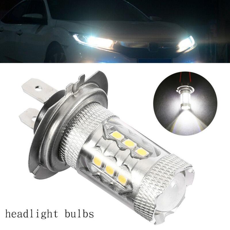 Новинка 2 шт. H7 499 светодиодный 80 Вт 6000 К головной светильник ближнего света, противотуманные фары, светильник для вождения, супер белая лампа...
