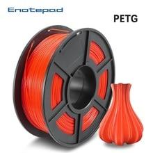 Enotepad PETG 3D Printer Filament 1.75mm 100% No Bubble PETG 3D Filament Tolerance+/-0.02mm Good For Print Pedant Lamshape 1KG