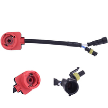 Plug-Harness Ballast-Bulb Connector Adapter Cable-Wire-Converter-Socket 2pcs-Accessories