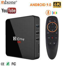 Android 9.0 TV Box, AllwinnerH6 Quad-Core , 6K HD Multiple Language Media Player Support 2.4GHz WiFi