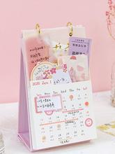 New High-quality Stand Alone Desk Office Table Calendar Desktop Calendar Multiple Functions Beautiful Desk Calendar Wholesale