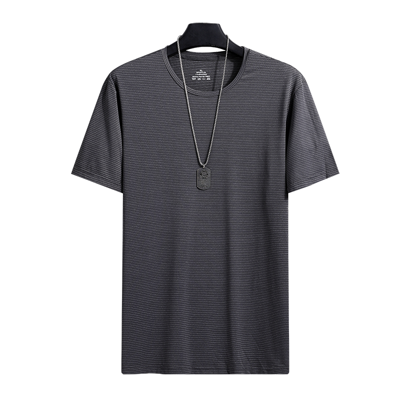 Oversize <font><b>T</b></font> <font><b>Shirt</b></font> Men New Trend Nylon Loose Casual Comfortable Breathable Quick Dry <font><b>T</b></font>-<font><b>shirt</b></font> For Men Plus Size 7XL <font><b>8XL</b></font> image