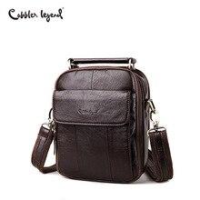 Cobbler Legend Men Messenger Bags Top Genuine Leather Design