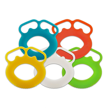 New Silicone O Hand Grips Forearm Carpal Expander Power Exercise Gym Fi