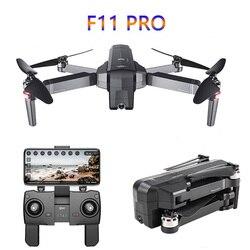 SJRC F11 PRO GPS RC Drone z kamerą 2K FPV 5G Wifi Quadcopter helikopter drony sterowanie gestami bezszczotkowy 25min Fly składany w Drony z kamerą od Elektronika użytkowa na
