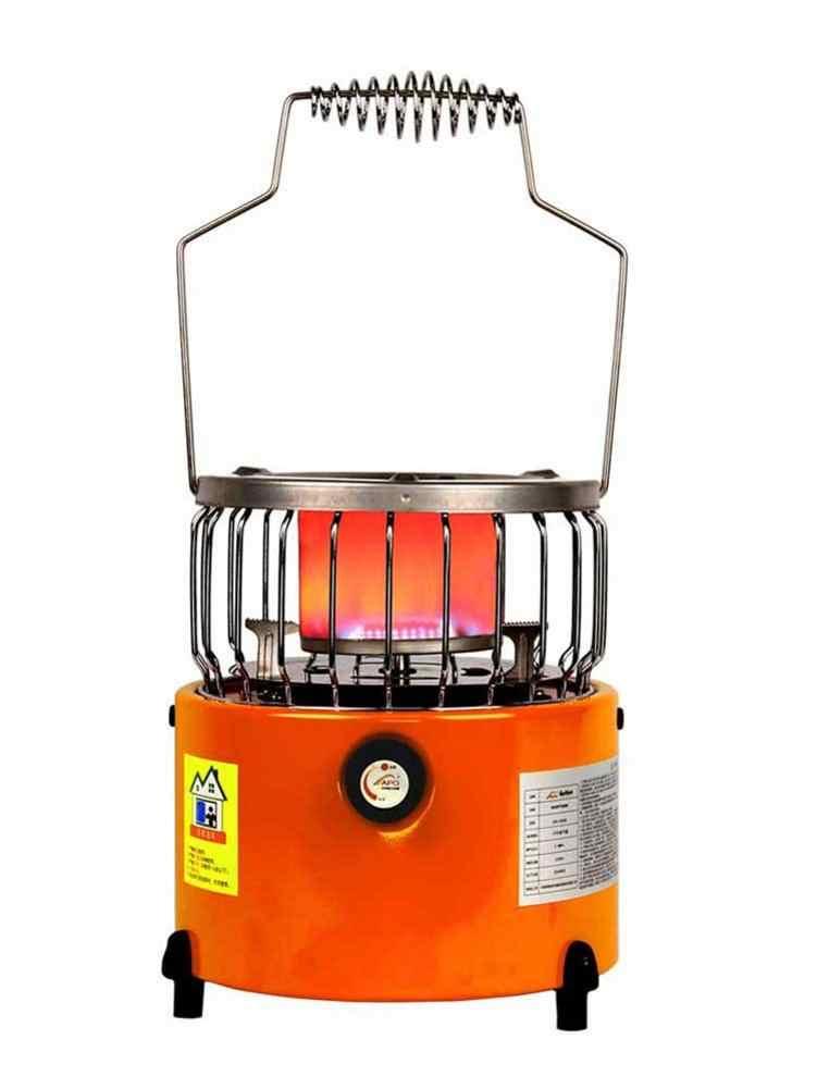 DEWIN Mini Estufa port/átil Calentador Tienda de calefacci/ón Herramienta de la Cubierta de la Estufa para el Invierno al Aire Libre Senderismo Viajar Camping