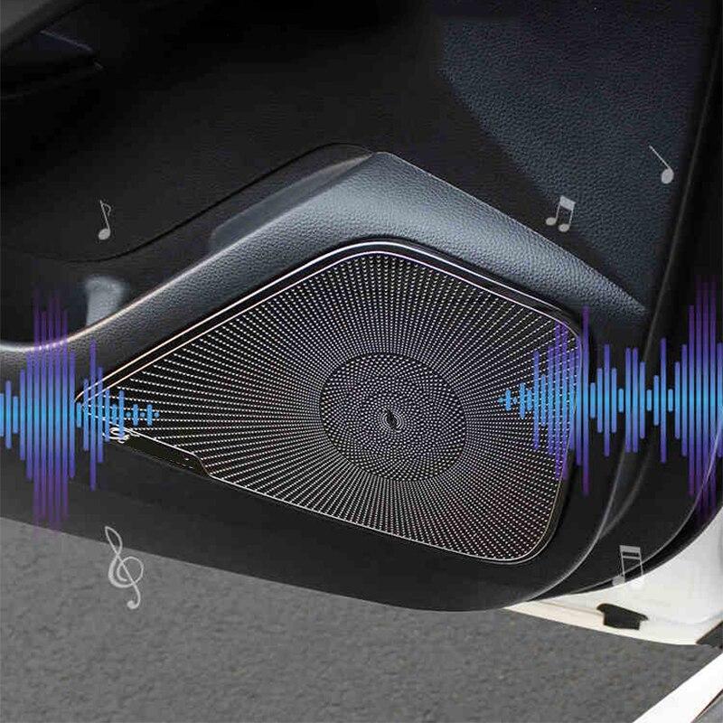 Porta De Carro Interna Capa Alto-falante áudio Trim Para Land Rover Discovery Sport 2015-2018