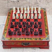 Китайская антикварная Набор для игры в шахматы 32 шахматные