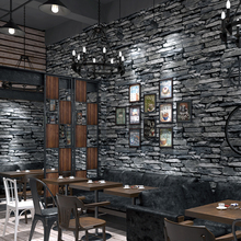 цена на PVC Wallpaper 3D Embossed Brick Wallpaper Living Room Kitchen Hotel Restaurant Stone Wall Paper Rolls For Walls 3 D Home Decor