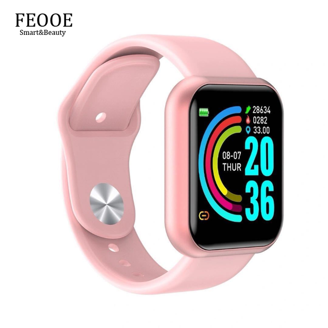 FEOOE Smart Electronics Wearable Devices Wristbands Smart Bracelet Heart Rate Blood Pressure Sports Bluetooth Watch Gift New Yxm 1