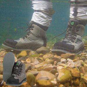 Image 3 - Mannen Ademende Outdoor Waden Laarzen, Sneldrogend En Antislip Vissen Schoenen, Voor Vissen, wandelen En Jacht