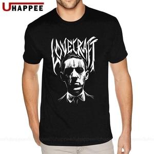 Lovecraft Creator Of футболка ктулху большого размера, Мужская Базовая футболка с короткими рукавами, городская футболка, распродажа, официальная од...
