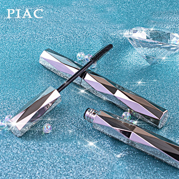 PIAC Diamond Mascara waterproof fiber long natural curl curl thick long-lasting does not halo dyed Internet red image