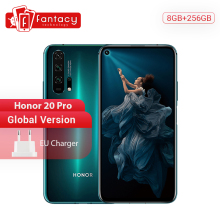 Global Version Honor 20 Pro 8G 256G Smartphone Kirin 980 Octa Core 48MP Camera NFC Google Play
