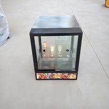 Изолированный шкаф завод прямой конусная пицца дисплей