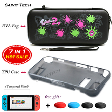 Nintendoswitch Accessories Case Cover EVA Storage Hard Bag Nintend Nitendo Switch TPU Soft Protective Shell for Nintendo Switch
