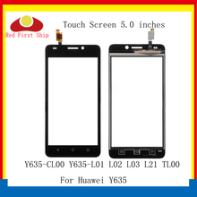 купить 10Pcs/lot Touch Screen For Huawei Y635 Touch Panel Sensor Digitizer Front Glass Outer Y635-CL00 Y635-L01 L02 L03 TouchScreen по цене 1253.96 рублей