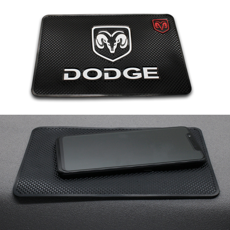 1PC Car PVC Anti-Slip Mat Sticky Pad Automobiles Interior Dashboard Non Slip Mat For Dodge Journey Ram 1500 Caliber Nito Charger
