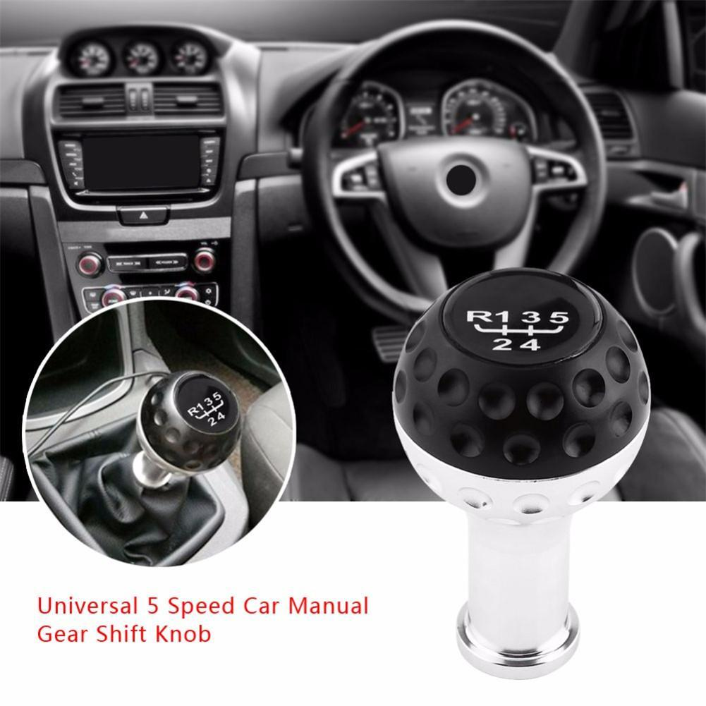 Aluminum <font><b>5</b></font> 6 Speed Car Manual Shift Lever Car Gear Shift Knob for <font><b>VW</b></font> <font><b>Golf</b></font> <font><b>GTI</b></font> Car <font><b>Accessories</b></font> image