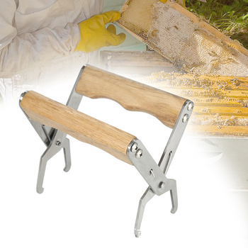 1Pc Wooden Bee Hive Frame Holder Grip Tool For Beekeeper Equipment Gripper Capture Tool Lift Beekeeping Tools фото