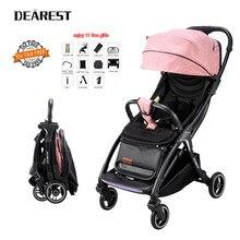 2020 upgrade baby stroller portable pram infant trolley ultr