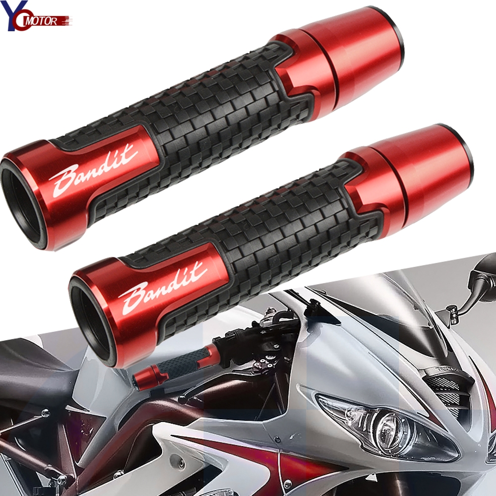 Motorcycle Accessories Handle Bar End Grips Handlebar Grips Handlebar Ends For SUZUKI GSF650/GSF650S/GSF650N BANDIT GSF 600 S N