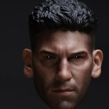 In stock 1/6 Scale Jon Bernthal Male Head Sculpt Head Carved Model F 12