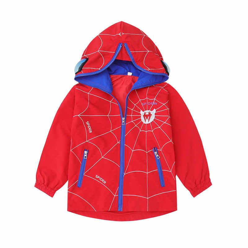 Ilkbahar Sonbahar Erkek Ceket Gözlük Çocuk rahat üst Ceket Hoodie Kapşonlu Gözlük Ceketler Gençler Çocuk Giysileri Dış Giyim 5-13