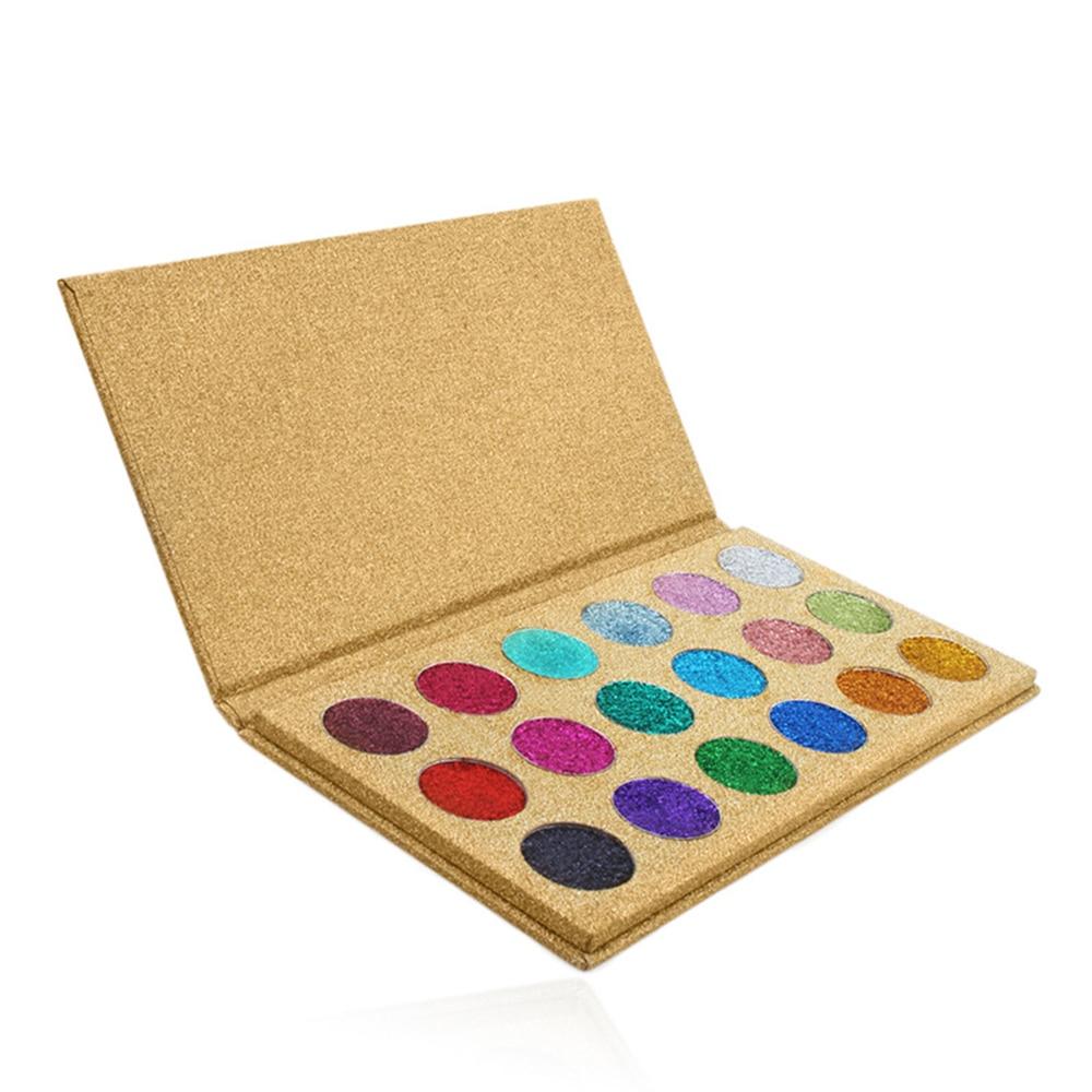 10 peca glitter lantejoulas glitter sombra paleta de energia highlighter shimmer maquiagem rotulo privado