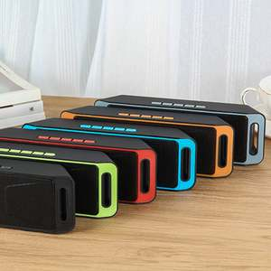 Portable Subwoofer Computer Outdoor-Speaker Mini Audio Music Android iPhone Wireless