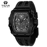 Tsar bomba-自動巻き時計,ブランド名,ラグジュアリー,サファイアデザイン,ステンレススチール,耐水性,メカニカルブレスレット,ギフト