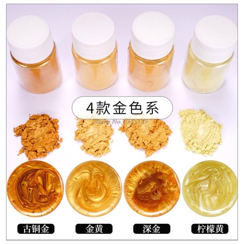 20 Pearlescent powder Epoxy Resin Dye Pearl Pigment Natural Mica Mineral Powder G29 Dropship 2