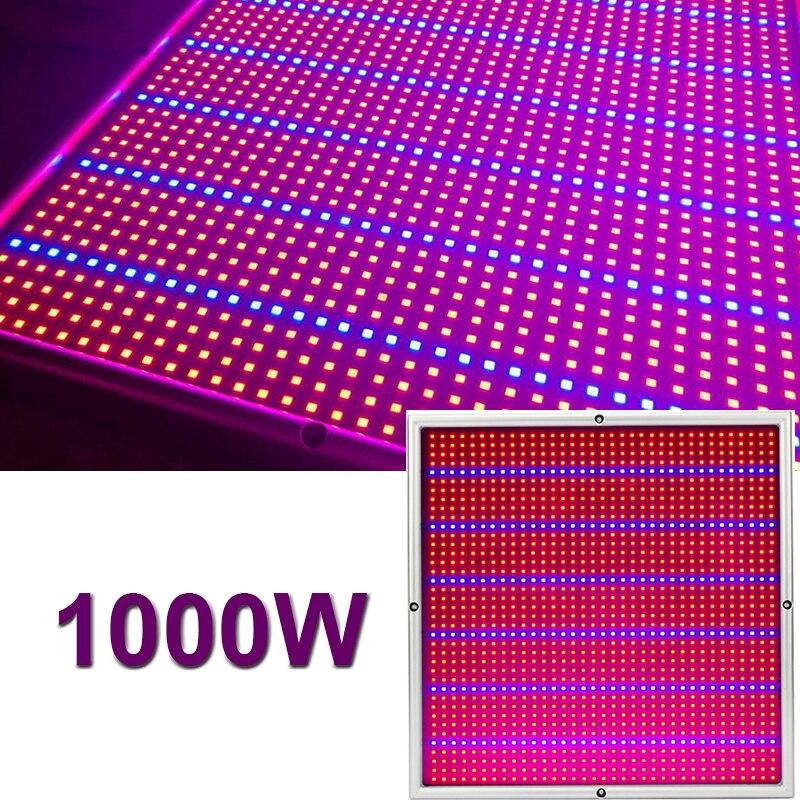 Grow Tent 1000W Lamp For Plants 1365 Leds LED Grow Light Phyto Lamp Full Spectrum Full Set Growth Lamp For Indoor Plant Seedling