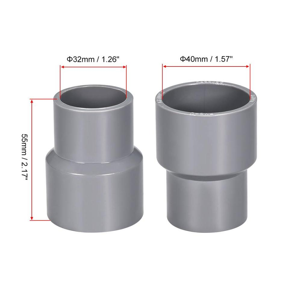 25mm Socket PVC Fittings Gray 20Pcs 90 Degree PVC Pipe Fitting Elbow