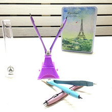 Cute Eiffel Tower Shape Student Compasses Drafting Tools Drawing Math Compass Set Creative School Supplies Stationery Gifts