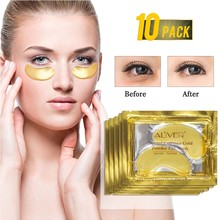 10pcs /5pcs Gold Crystal Collagen Eye Mask Eye Patches Eye Mask For Face
