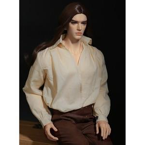 Image 4 - Doll BJD Chandra Fullset Option 1/3 Wild Vintage Long Wig Stylish Male Dreamlover