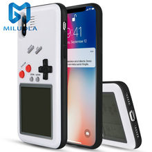 Caseboy Retro TERIS Gameboy สำหรับ iPhone X XS MAX XR TPU Game Boy สำหรับ IPhone 6 6S 7 8 PLUS Capa(China)