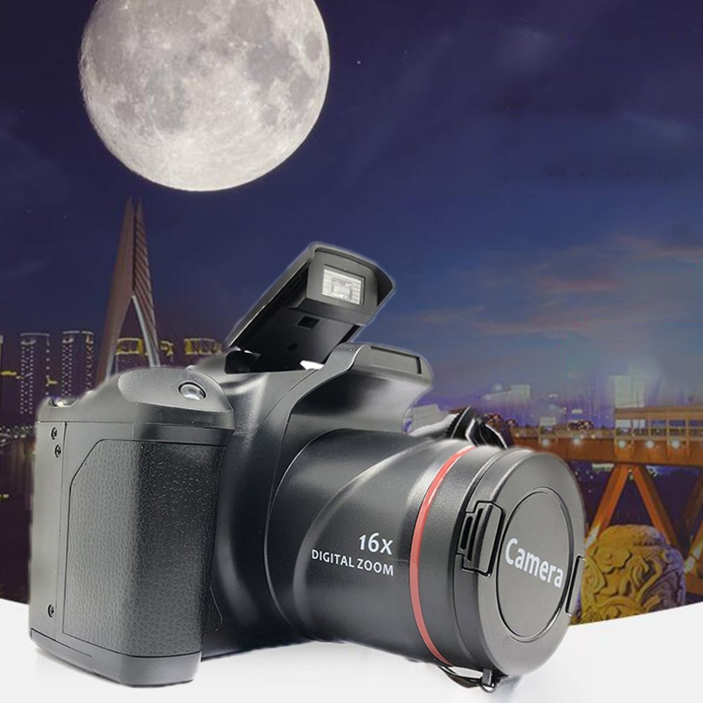 H415ada21bd714e7b926d9fffcc2b1f5di XJ05 Digital Camera SLR 4X Digital Zoom 2.8 inch Screen 3mp CMOS Max 12MP Resolution HD 720P TV OUT Support PC Video