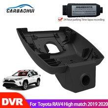 Автомобильный видеорегистратор, Wifi, видеорегистратор, камера для Toyota RAV4, высокое соответствие 2008 ~ 2018 ~ 020, высокое качество, ночное видение ...