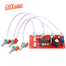 Ghxamp UPC1892CT Preamp Ton Bord Vorverstärker Tone Control Potentiometer Trennung Gute Qualität Dual DC 12 v 24 V 1pc