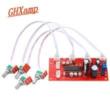 Ghxamp upc1892ct preamp tone board pré amplificador controle de tom potenciômetro separação de boa qualidade dupla dc 12 v 24 v 1pc